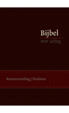 Bijbel BMU flex. bruin 140x198mm