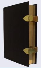 Kanttekeningenbijbel antiek-bruin leer k