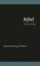Bijbel bmu GROOT zwart goud