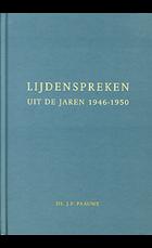Lijdenspreken uit de jaren 1946-1950