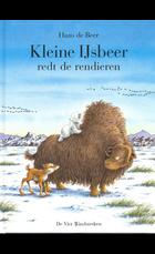 Kleine ijsbeer redt de rendieren / druk