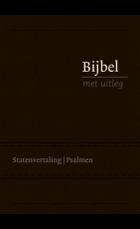 Bijbel BMU flex. zwart 140x198mm