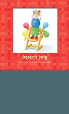 Jasper is jarig