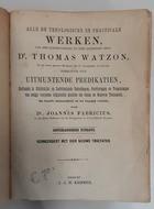 Alle de werken van Thomas Watzon