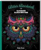 Glitter kleurboek Ultimate black Edition