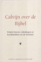 Calvijn over de bijbel