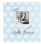 Babyalbum Hallo Baby Blau