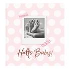 Babyalbum Hallo Baby rosa