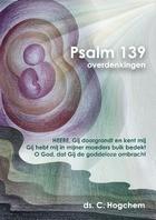 Psalm 139 - overdenkingen