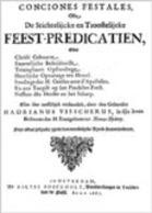 Feestpredicatien en de Herder en het sch